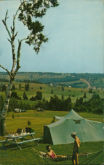 Camping at beautiful Strathgartney Provincial Park