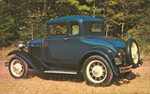 A 1930 Model A Ford Coupe