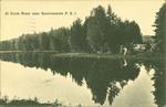 At Dunk River near Summerside P.E.I.