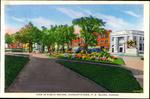 View in Public Square, Charlottetown, P.E.Island, Canada