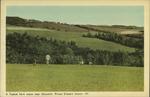 A typical farm scene near Churchill, Prince Edward Island.