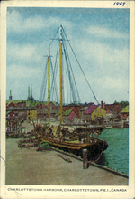Charlottetown Harbour, Charlottetown, P.E.I., Canada