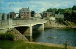 Bridge Spanning The Beautiful Montague River