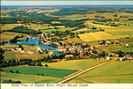 Aerial View of Hunter River, Prince Edward Island