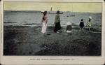 Boston Boat Entering Charlottetown Harbor, P.E.I.