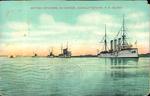 British Cruisers in Harbor, Charlottetown, P.E. Island