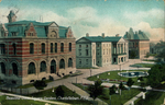 Beautiful Queen Square Gardens, Charlottetown, P.E.I.