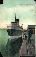 """""""S.S. Empress"""" Summerside, P.E.Island."""