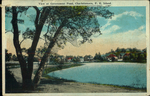 View at Government Pond, Charlottetown, P.E.Island.