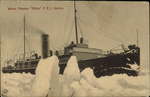 "Winter Steamer ""Minto"" P.E.I. Service."
