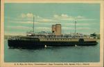 "C.N. Rlys. Car Ferry, ""Charlottetown,"" Cape Tormentine, N.B., Borden, P.E.I."
