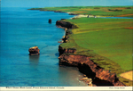 Where Ocean Meets Land, Prince Edward Island, Canada.