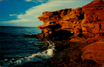 Big Rock Cave at Cavendish Beach, Prince Edward Island