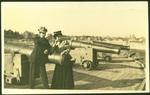 A couple at Fort Edward, Charlottetown, P.E.I., Canada.