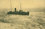 """1953 S.S. """"Minto"""" blocked in ice Northumberland Straits"""