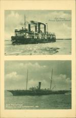 Car Ferry Prince Edward Island, S.S. Hochelaga Pictou to Charlottetown