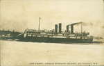 Car Ferry, Prince Edward Island, at Pictou, N.S.