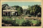 A Summerside Garden. Summerside, Prince Edward Island.