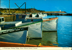 A Picturesque Fishing Village, Prince Edward Island, Canada.