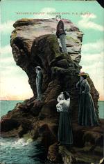 """""""Nature's Pulpit"""" Kildare Cape, P.E.Island."""