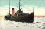 """S.S. Minto"" Entering Georgetown Harbor, P.E.Island."