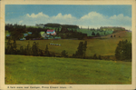 A farm scene near Cardigan, Prince Edward Island